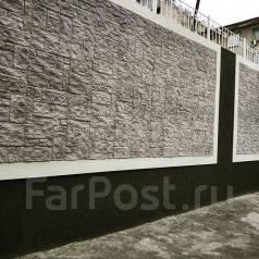 Декоративный камень для фасада и интерьера! Скала, кирпич