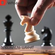 Подарочный сертификат на урок игры в шахматы