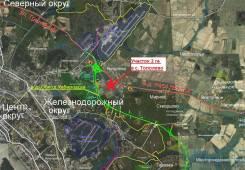 Тополево. 2 гектара, собств. Развязка автодорог Р454, Обход г. Хабаровска. 200 000кв.м., собственность, от частного лица (собственник)