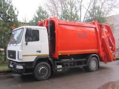 Коммаш КО-427-73. Продаю мусоровоз с порталом МАЗ в Москве, 7 800куб. см.