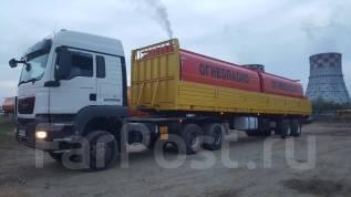 Cimc. Полуприцеп бортовой - сортиментовоз 50 т, 40 000 кг.
