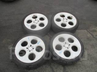 Комплект летних колёс на литье 215 40 17 Б/П по РФ K6-9. 7.0x17 4x100.00 ET32 ЦО 60,0мм.