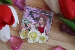 Магнит на холодильник с Вашим фото! 14 и 23 февраля, 8 марта. Под заказ