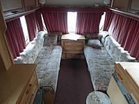 Swift. Прицеп-дача Challenger 2000 год, 3 спальных места, бойлер