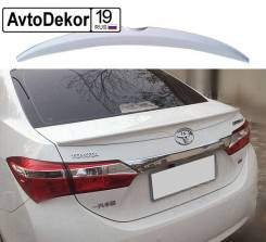 Спойлер. Toyota Corolla, NDE160, NRE160 Двигатели: 1NDTV, 1NRFE. Под заказ