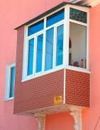 Остекление, отделка балконов и лоджий - скидка 50%! Установка окон ПВХ