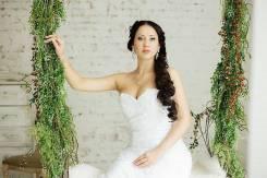 Услуги визажиста. Свадебный макияж - 1300 руб, репетиция - 300 руб.