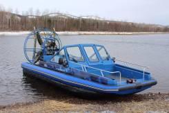 """Аролодка """"Север 650"""" в Красноярске. Год: 2017 год, длина 7,10м., двигатель стационарный, 265,00л.с., бензин. Под заказ"""
