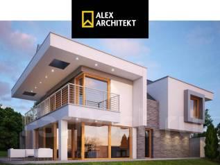 R 105 Современный дом. 100-200 кв. м., 2 этажа, 5 комнат, бетон