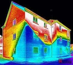 Тепловизионное обследование. Услуги тепловизора. Кратность воздухообмена