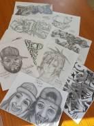 Набор в студию Граффити (7+)
