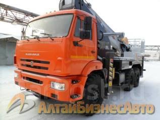 Novas. Продажа автовышки 460 на базе КамАЗ-43118 (6х6), 46 метров, 11 760 куб. см., 46 м.
