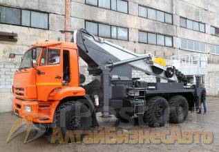 Novas. Продажа автовышки 350 на базе КамАЗ-43118 (6х6), 35 метров, 11 760 куб. см., 35 м.