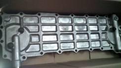 Радиатор масляный. Hyundai: Gold, Universe, HD170, HD, HD250, HD1000, Trago, HD320 Kia Granbird Kia AM928 Двигатель D6AC