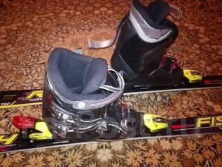 Горные лыжи и ботинки. 150,00см., горные лыжи, фрирайд (freeride)