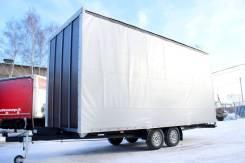 Центртранстехмаш. Новый Шторный прицеп с тандемными осями 3,5 тонны, 2 300 кг.