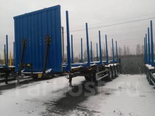 Тонар 9445. Полуприцеп сортиментовоз (лесовоз) , 45 000 кг.