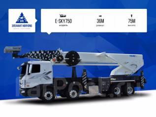 Horyong Sky. Автовышка Elephant-Horyong E-SKY750 на шасси Scania, 75 м. Под заказ