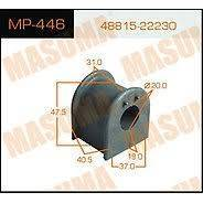 Втулка стабилизатора masuma rear mark ii, chaser, cresta jzx100 кт2 MP446 Masuma, задняя Masuma MP446