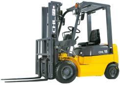 Heli. Новый бензиновый вилочный погрузчик CHL, 1 500 кг.