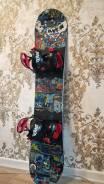 Продаю детский (Сноуборд, крепления, ботинки, шлем, очки) (7-11 лет)