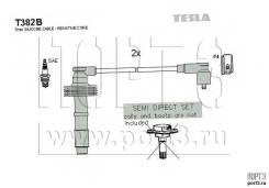 Проводов!\ Volvo S40/V40 1.6-2.0 95-04 T382B Tesla Technics к-кт