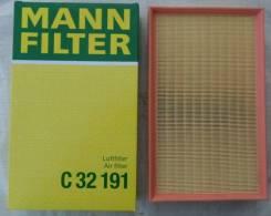 Фильтр воздушный!\VW T5/Multivan 2.0/3.2/1.9TDi/2.5TDi V6 03> C32191 Mann-Hummel