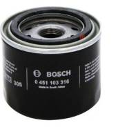 Фильтр масляный!\ Mitsubishi Colt/Galant/Lancer 1.1-3.5 83> 0451103316 Bosch
