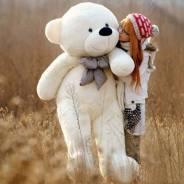 Большой плюшевый медведь 200 см. Отличный подарок девушке на праздник!