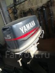 Yamaha. 5,00л.с., 2-тактный, бензиновый, нога L (508 мм), 2000 год год
