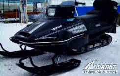Наклейки на снегоход Yamaha VK 540 IV (Черный капот)_арт_12131. Под заказ