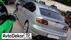Спойлер на заднее стекло. Mazda Mazda3, BK Двигатели: L3VE, LF17, RF7J, Y601, Y650, Y655, Z6, ZJVE
