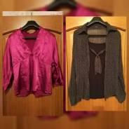 Рубашки женские 4 штуки!. 46, 48
