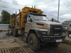 Урал 4320. -6951-74 Сортиментовоз с кму, 10 850 куб. см., 9 600 кг.