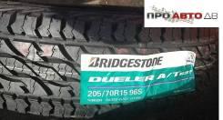 Bridgestone Dueler A/T D697. Летние, 2017 год, без износа, 1 шт