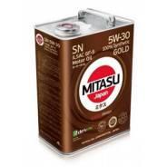Mitasu Gold. Вязкость 5W-30, гидрокрекинговое
