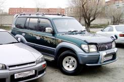 Наклейки. Toyota Land Cruiser Prado