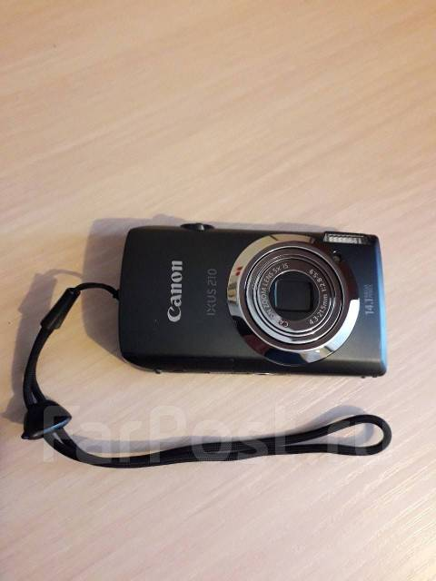 Canon Digital IXUS 210. 10 - 14.9 Мп, зум: 5х