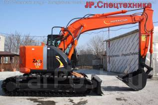 Hitachi ZX135US. Экскаватор 2015г. в. Максимальная Комплектация. Б/П !, 4 329 куб. см., 0,60 куб. м.