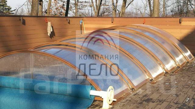 Навесы, павильоны для бассейнов, козырьки, теплицы, поликарбонат. Под заказ