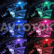 Мультицветные светодиодные LED лампы(2) в салон/габариты MLL-T10