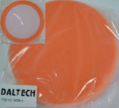 """Полировальный круг PPI с углублением, оранжевый, плоский, средней жесткости T40, D150мм (6""""), толщина 35мм"""
