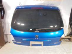 Дверь багажника. Peugeot 206, 2A/C, 2D, 2E/K Двигатели: DV4TD, DW10TD, EW10J4, TU1JP, TU3A, TU3JP, TU5JP4