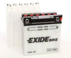 Аккумулятор мото 12В 9Ач 85А 135х75х139 мм EXIDE