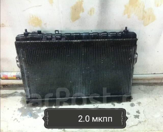 Радиатор охлаждения двигателя. Hyundai Trajet