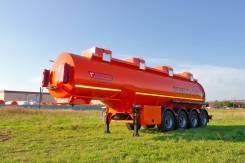 Сеспель SF4332. Бензовоз 32м3, 4 отс, насос, 4 оси, 2 подъёмные, на ось 6,5тн SF4332