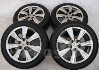 Колёса с шинами =Lexus GS350= R17! 2015 год! 8 мм! (№ 67970). 7.5x17 5x114.30 ET45
