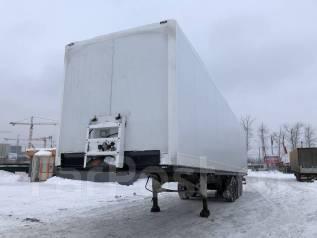 Krone SD. Полуприцеп изотермический фургон цельнометаллический, 32 100 кг.