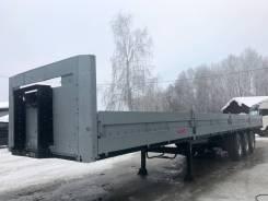 Kogel SN24. Полуприцеп бортовой 2011г. на SAF коробах в ОТС, 39 000 кг.
