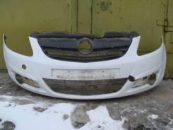 Опель Корса Бампер передний Opel Corsa D 2006-11